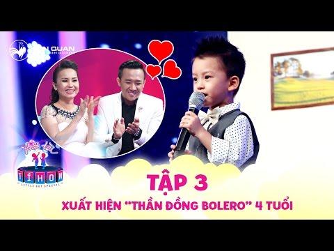 Biệt Tài Tí Hon – Thần đồng bolero 4 tuổi với giọng hát ngọt ngào