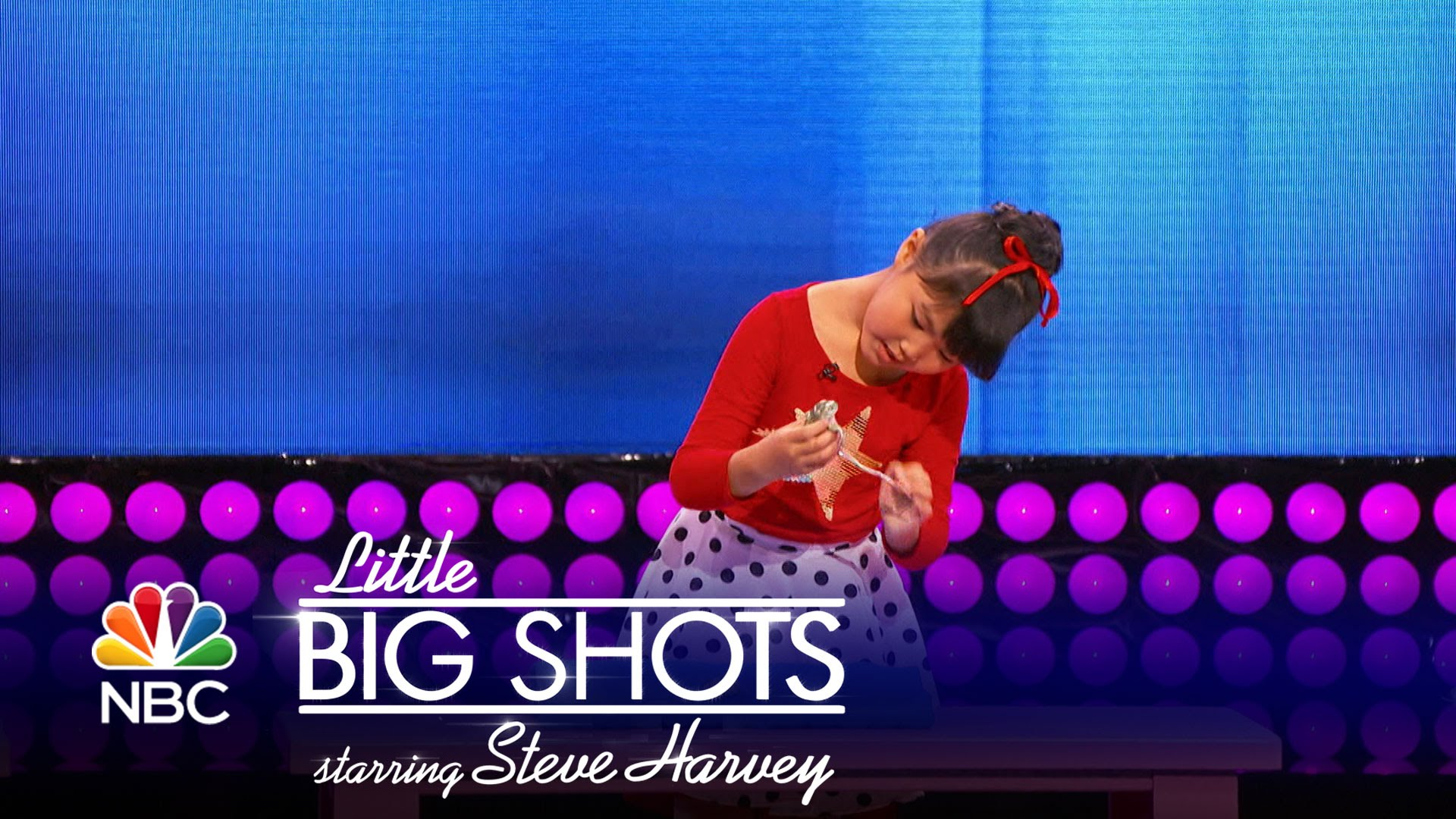 Little Big Shots – Five-Year-Old Animal Hypnotist