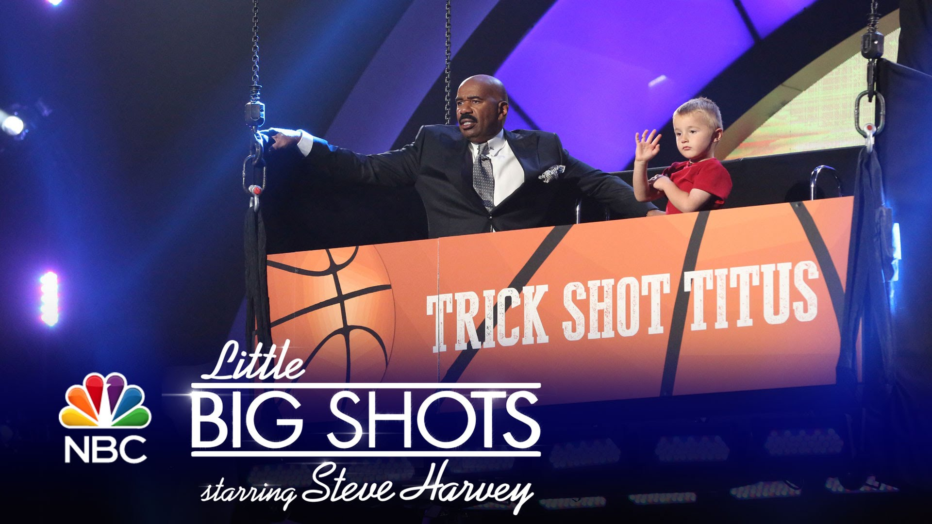 Little Big Shots – Four-Year-Old Basketball Trick Shot Whiz