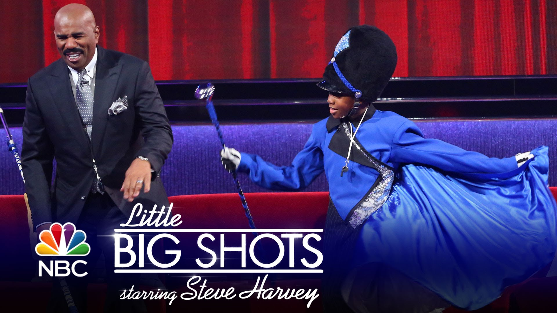Little Big Shots – Young Drum Major Is a Major Stud