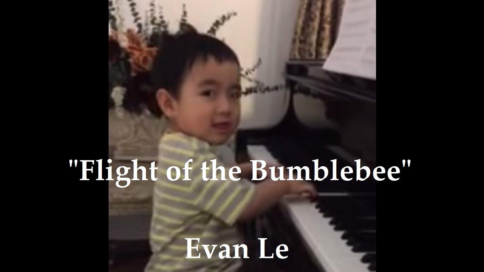 evan le - thần đồng âm nhạc nhí piano