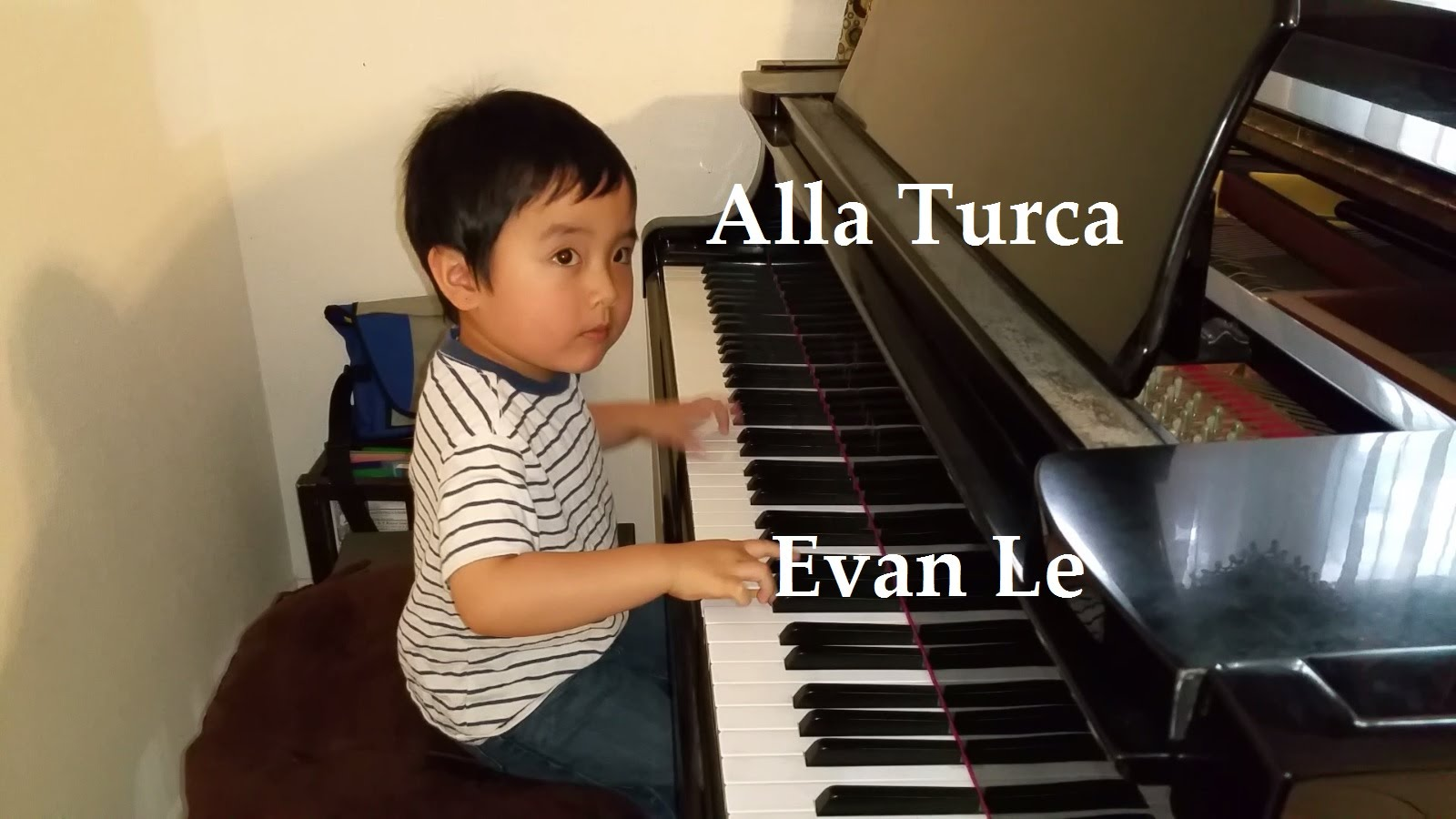 Evan Le – Child Prodigy Pianist Evan Le Plays Alla Turca