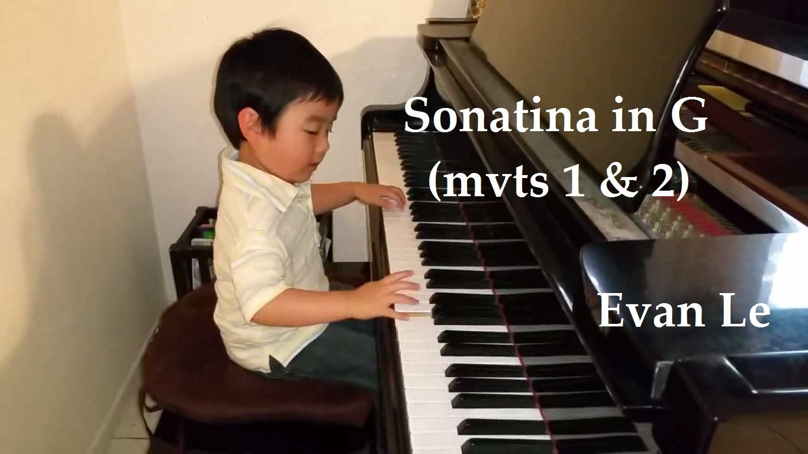 Evan Le – Sonatina in G Major