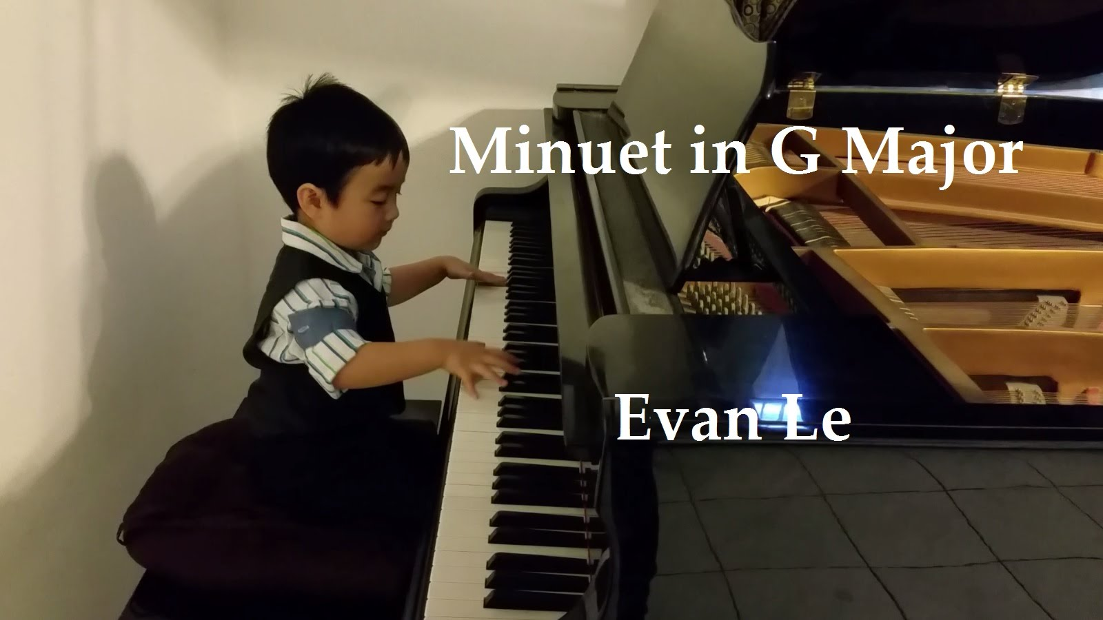 Evan Le – Minuet in G Major