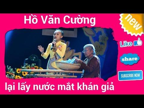 Hồ Văn Cường lại lấy nước mắt khán giả