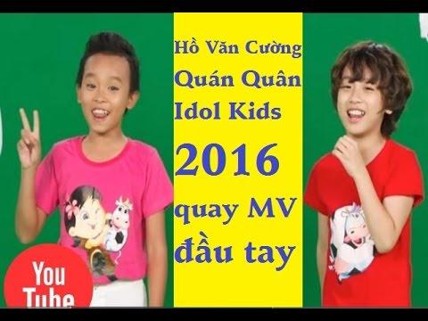 Hồ Văn Cường Quán Quân Idol Kids 2016 quay MV đầu tay – [Tin mới 123]