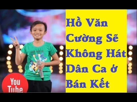 Hồ Văn Cường sẽ không hát dân ca ở bán kết | Idol Kids 2016 – [Tin mới 123]