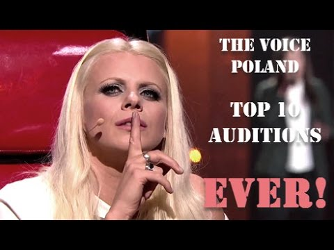 The Voice Poland Top 10 Blind Auditions All Time