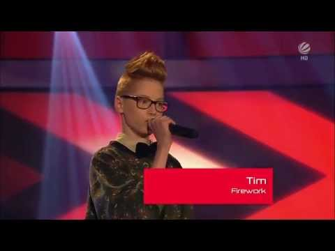 The Best Voice in the World! Tim Firework The Voice Kids Germany!!! Blind Auditions