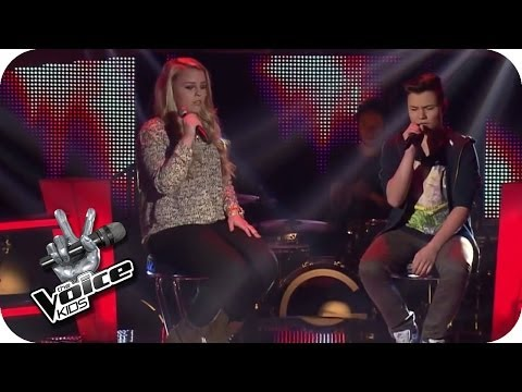 John Legend – All Of Me (Jasmin, Richard) | The Voice Kids 2014 | BATTLE | SAT.1