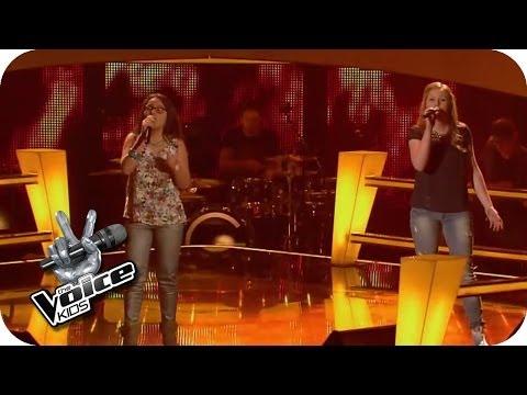 Ellie Goulding – Burn (Lena, Lara) | The Voice Kids 2014 | BATTLE | SAT.1