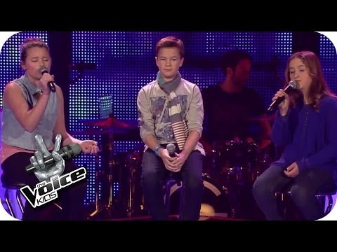 Leonard Cohen – Hallelujah (Simon, Helena, Patrizia) | The Voice Kids 2014 | BATTLE | SAT.1