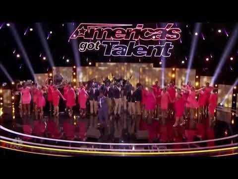 اجمل عرض جماعي كانهم صوت واحد  في مواهب امريكا 2017 مترجم  America's Got Talent 2017
