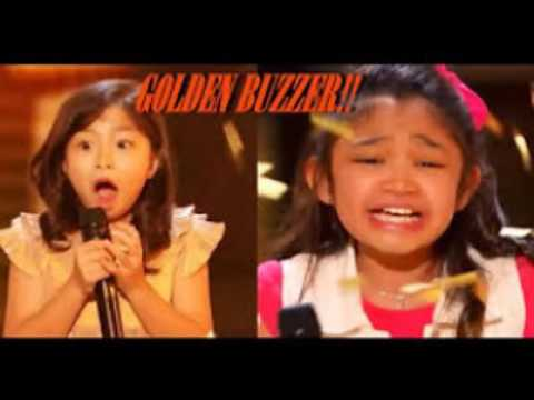 she can sing [ angelica hale 9 [ earns golden buzzer [ America's Got Talent 2017 [ laverne cox ]