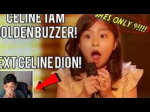 celine tam [ badly needs the golden buzzer [ America's Got Talent 2017 [ celine tam family ]