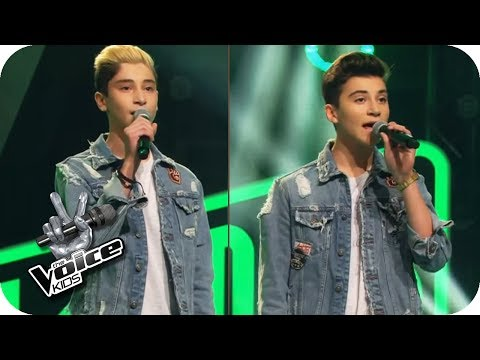 One Direction – Little Things (Roman & Michael) | The Voice Kids 2017 | Blind Auditions | SAT.1