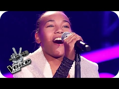 Whitney Houston – Run To You (Diana) | The Voice Kids 2017 | Blind Auditions | SAT.1