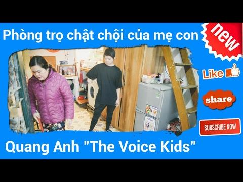 Phòng trọ chật chội của mẹ con Quang Anh