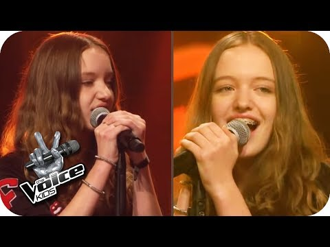 KLIMA – Schwesterherz (Jaqueline & Jeanette) | The Voice Kids 2017 | Blind Auditions | SAT.1