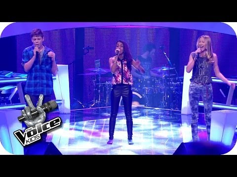 A Great Big World – Say Something (Samuel, Sabeschni, Hannah) | The Voice Kids 2014 | BATTLE | SAT.1