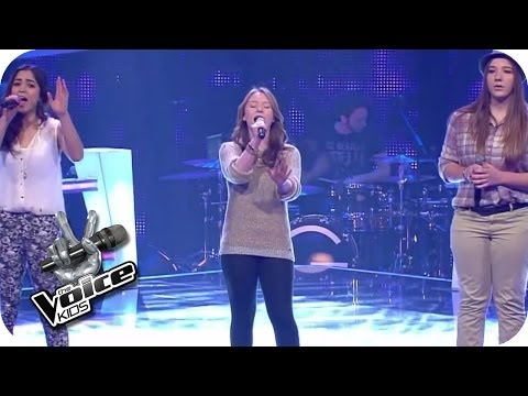 Katy Perry – Unconditionally (Julia, Caitlin, Selin) | The Voice Kids 2014 | BATTLE | SAT.1