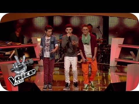 Bruno Mars – Treasure (Noah, Stepan, Theodore) | The Voice Kids 2014 | BATTLE | SAT.1