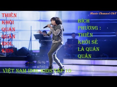 VIETNAM IDOL KIDS 2017 – TẬP 10 – GALA 4 – FULL HD