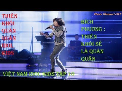 VIETNAM IDOL KIDS 2017 – TẬP 10 – GALA 4 – FULL HD