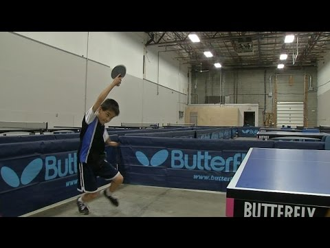 Little Big Shots: Ping-Pong prodigy James Oram