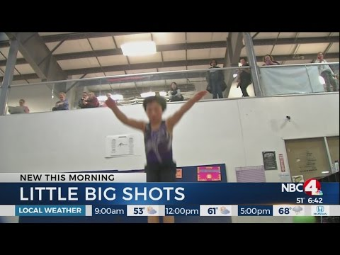 Little Big Shots: Trampoline gymnast Cristian Aguirre