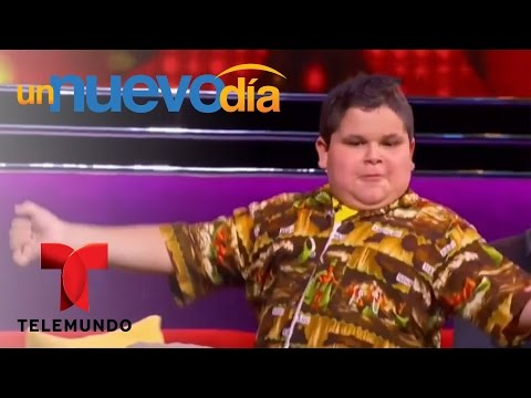 Un pequeño bailarín mexicano llega a la tv americana | Un Nuevo Día | Telemundo