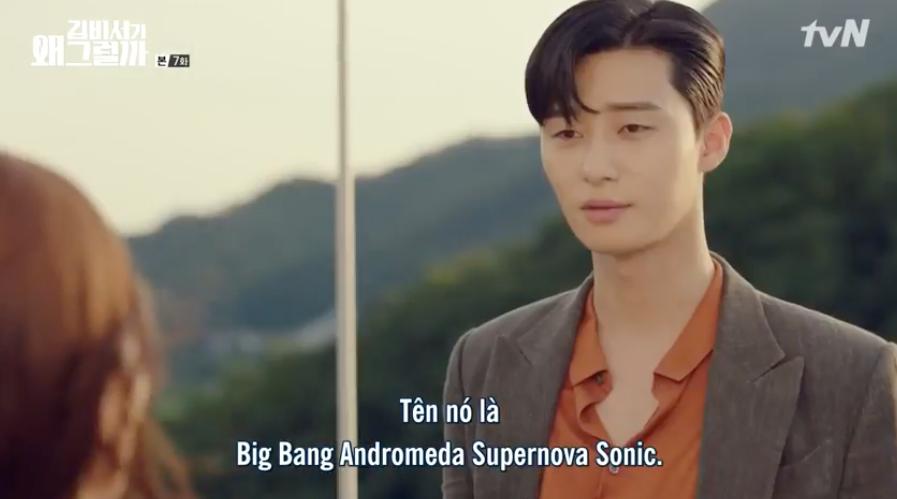 Hết cả hơi để đọc được tên chú chó của Phó chủ tịch Park Seo Joon: Big Bang Andromeda Supernova Sonic - Ảnh 5.