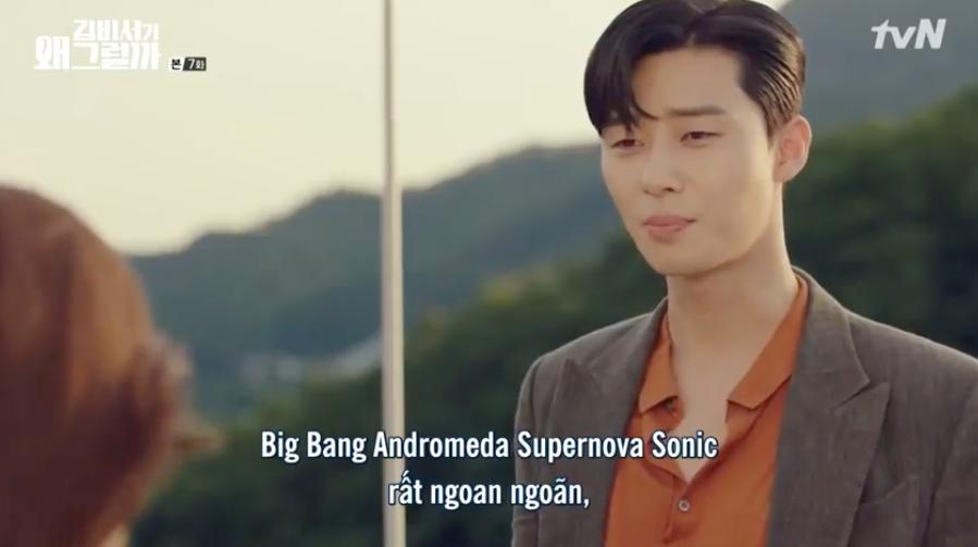 Hết cả hơi để đọc được tên chú chó của Phó chủ tịch Park Seo Joon: Big Bang Andromeda Supernova Sonic - Ảnh 6.