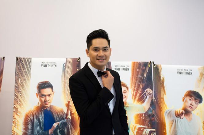 Vợ chồng Lý Hải - Minh Hà tình tứ đến chúc mừng đoàn phim 'Lộ mặt' - ảnh 3