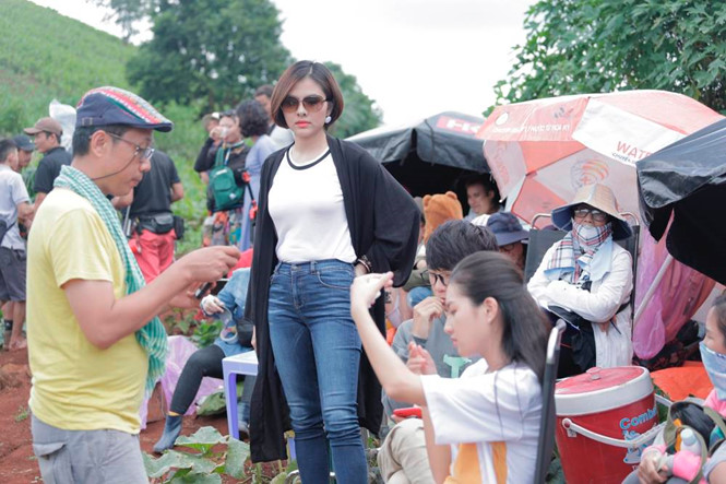 Vân Trang không sợ bị so sánh với Ngô Thanh Vân khi sản xuất phim - ảnh 2