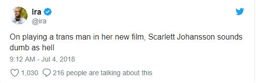 Bị ném đá vì vào vai người chuyển giới, mỹ nhân gợi tình Scarlett Johansson phản pháo - Ảnh 3.