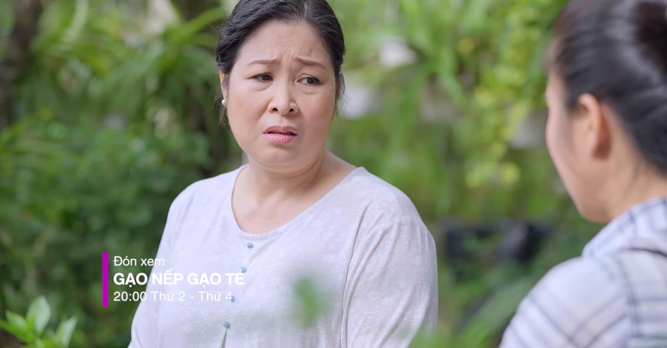 """""""Gạo Nếp Gạo Tẻ"""": Mẹ ruột quá quắt tiếp tục khiến khán giả tức phát sốt khi tuyên bố từ mặt cô con gái nghèo khổ - Ảnh 3."""