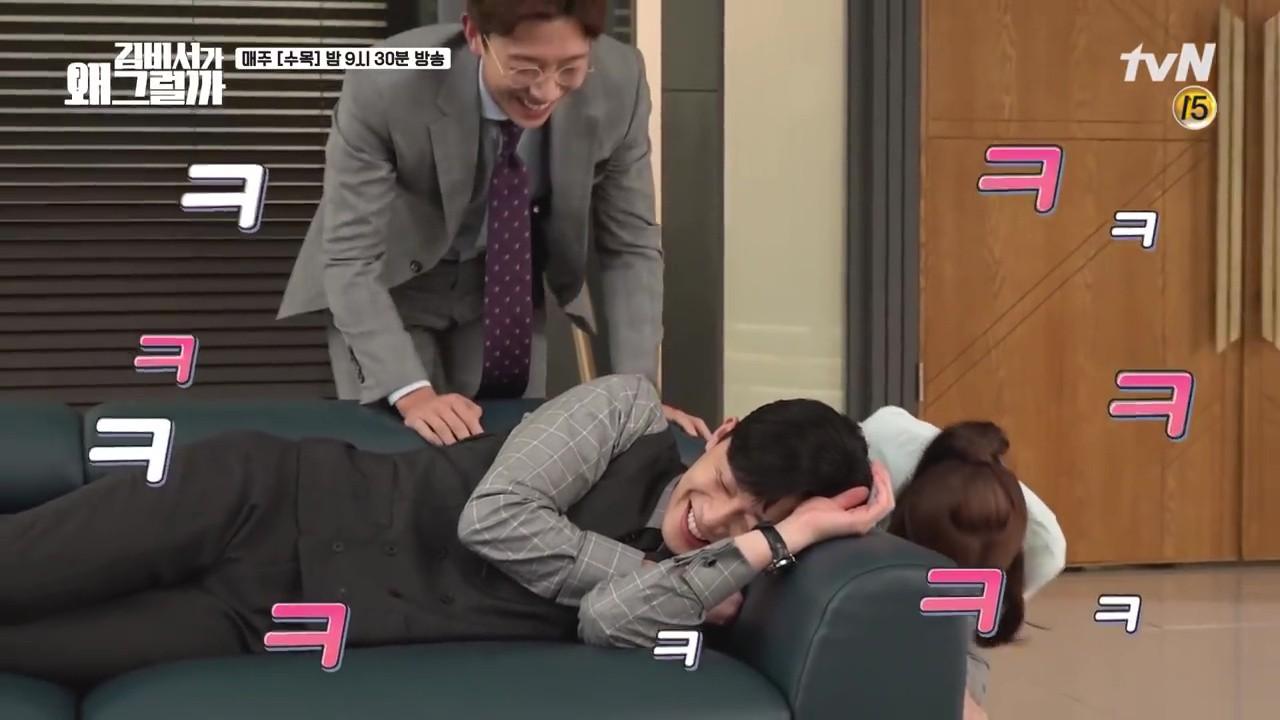Thư Ký Kim: Phản ứng trái ngược của cặp đôi Park - Park và ekip sau cảnh hôn tủ quần áo - Ảnh 13.