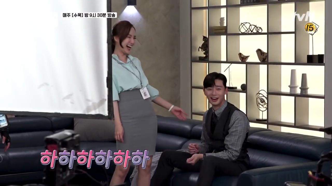Thư Ký Kim: Phản ứng trái ngược của cặp đôi Park - Park và ekip sau cảnh hôn tủ quần áo - Ảnh 14.