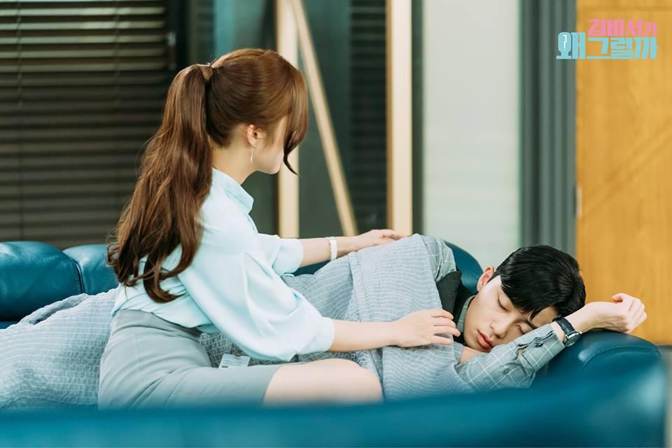 Thư Ký Kim: Phản ứng trái ngược của cặp đôi Park - Park và ekip sau cảnh hôn tủ quần áo - Ảnh 20.