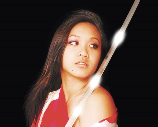Võ sư, diễn viên Mỹ gốc Việt Gemma Nguyễn: Tìm về nguồn cội bằng võ thuật - ảnh 4