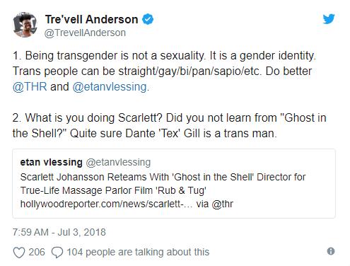Bị ném đá vì vào vai người chuyển giới, mỹ nhân gợi tình Scarlett Johansson phản pháo - Ảnh 2.