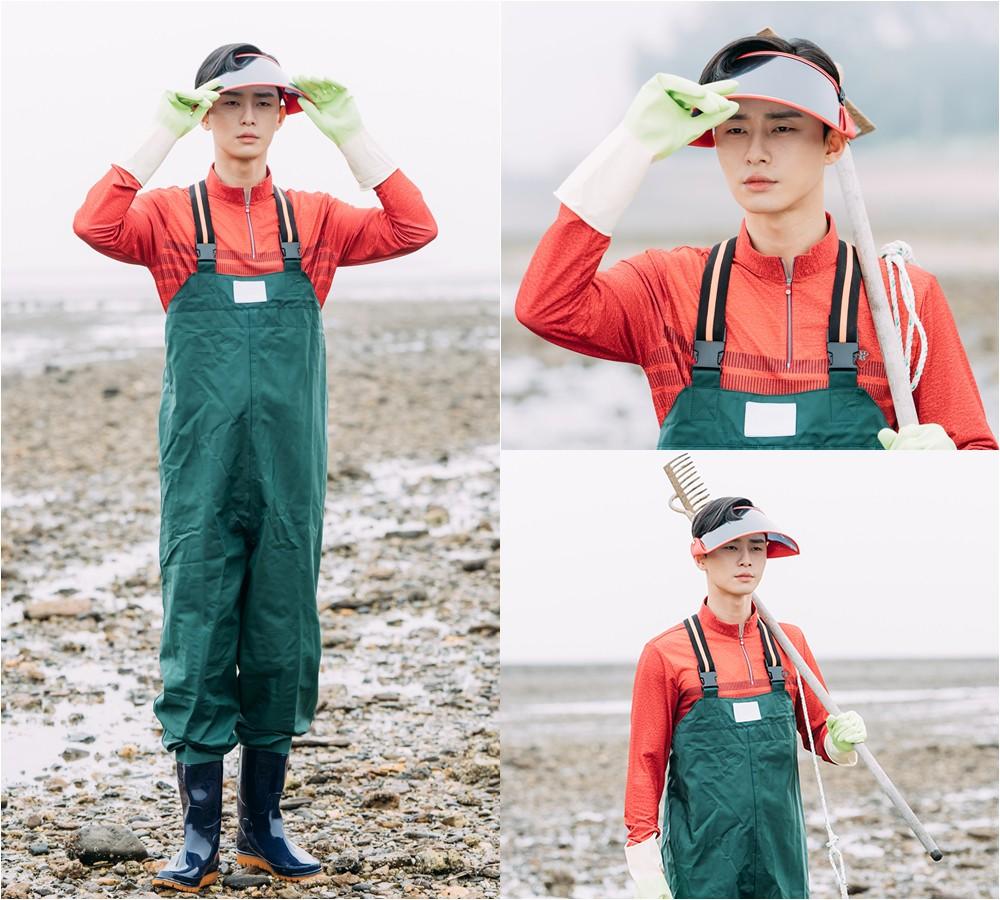 Bỏ style quý tộc, Phó Chủ tịch Park Seo Joon lột xác ngoạn mục khiến fan... cười rớt hàm - Ảnh 2.