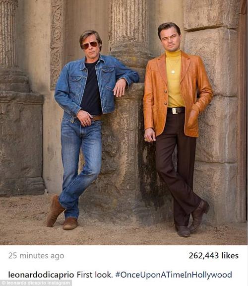 Leonardo DiCaprio, Brad Pitt lộ tạo hình trong phim về vụ thảm sát minh tinh Sharon Tate | Văn hóa – Truyền Hình