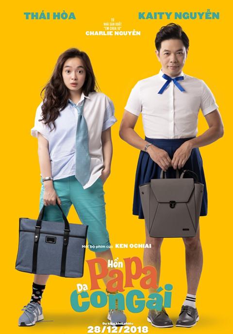 Đoàn phim 'Hồn papa, Da con gái' xin lỗi vì 'đạo nhái' poster - ảnh 1