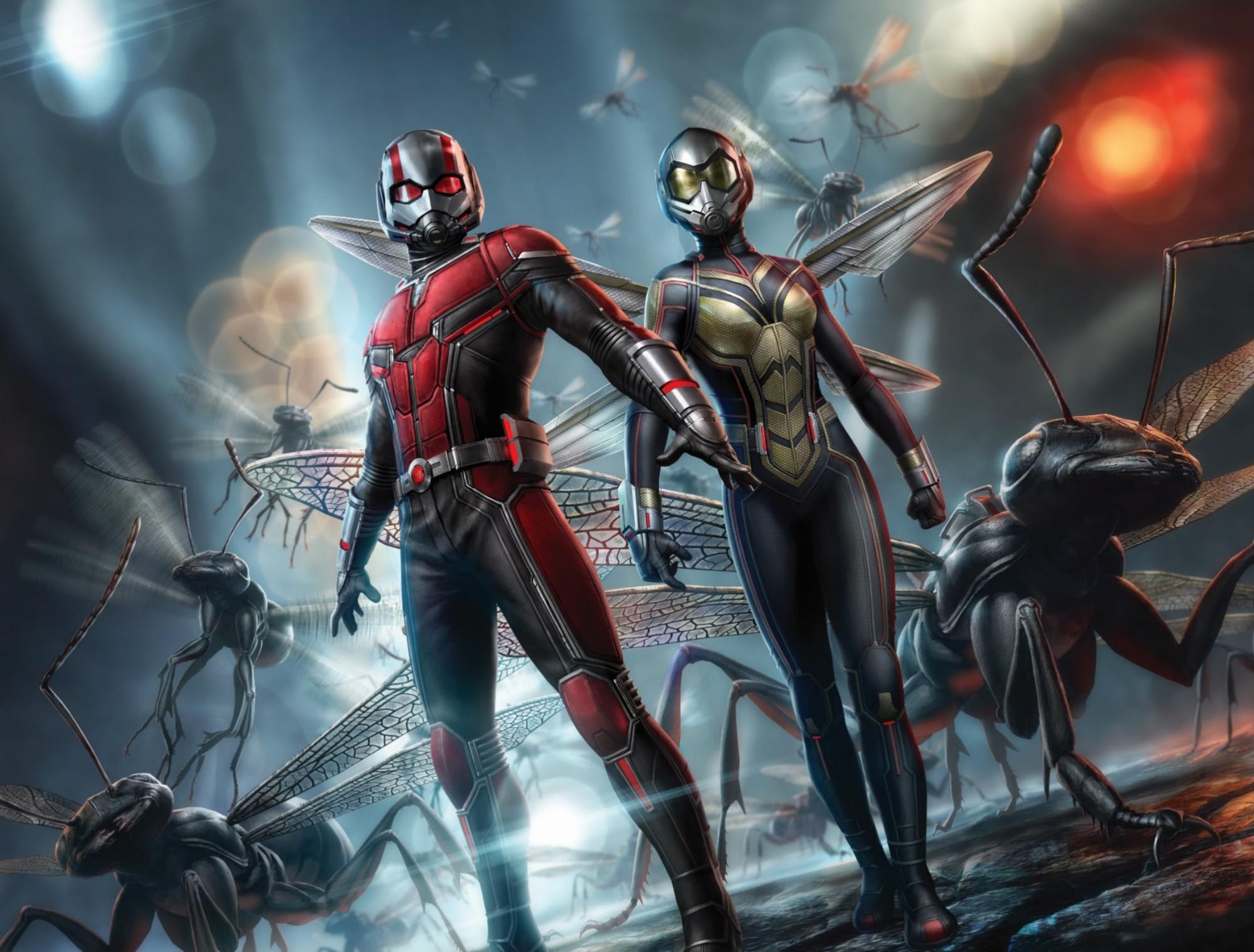 """""""Ant-Man and the Wasp"""": Khi mỹ nhân ra tay cứu anh hùng trong cuộc chiến vắng bóng kẻ ác - Ảnh 1."""