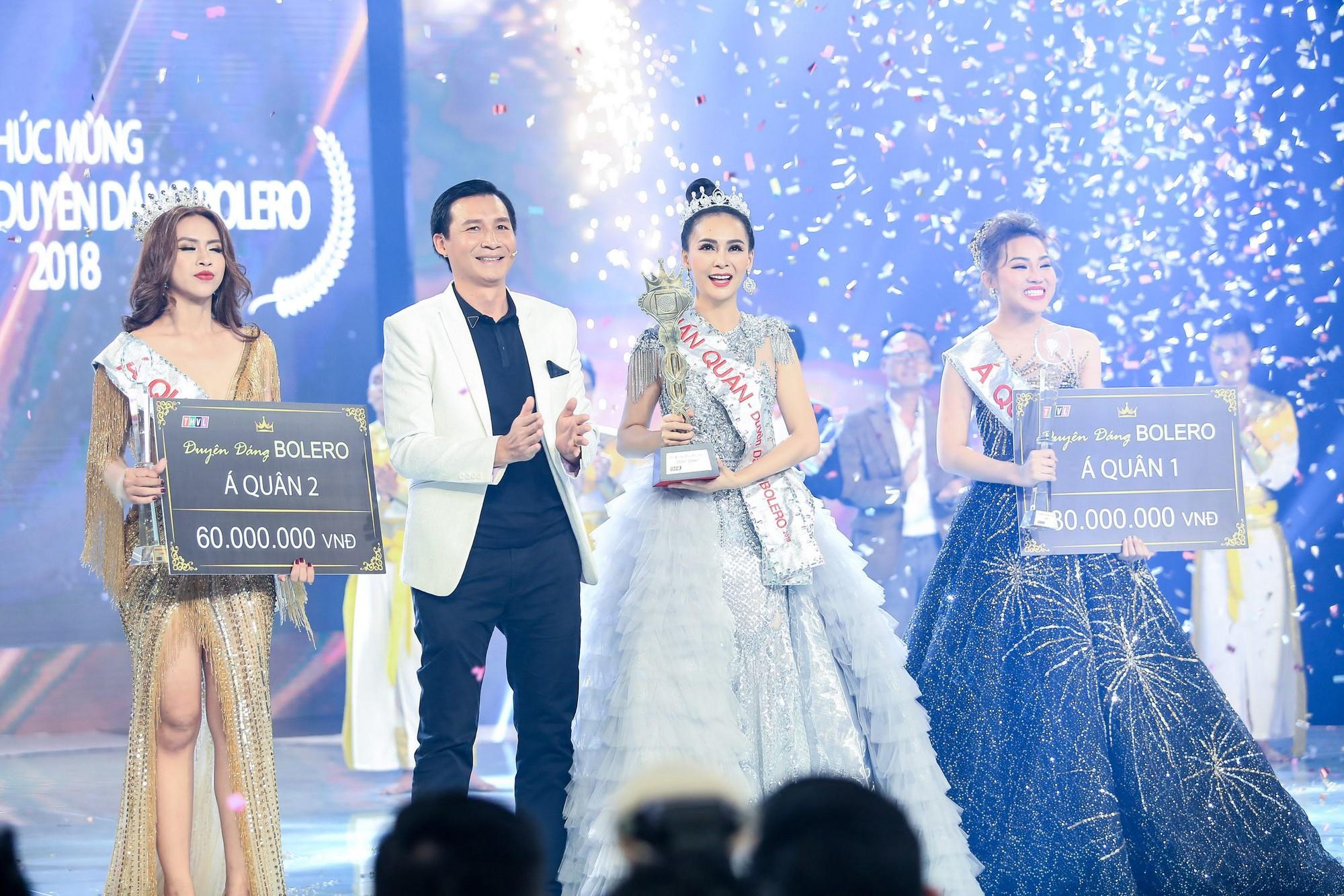 Người đẹp Mỹ Ngọc lên ngôi Quán quân Duyên dáng Bolero 2018 - Ảnh 1.