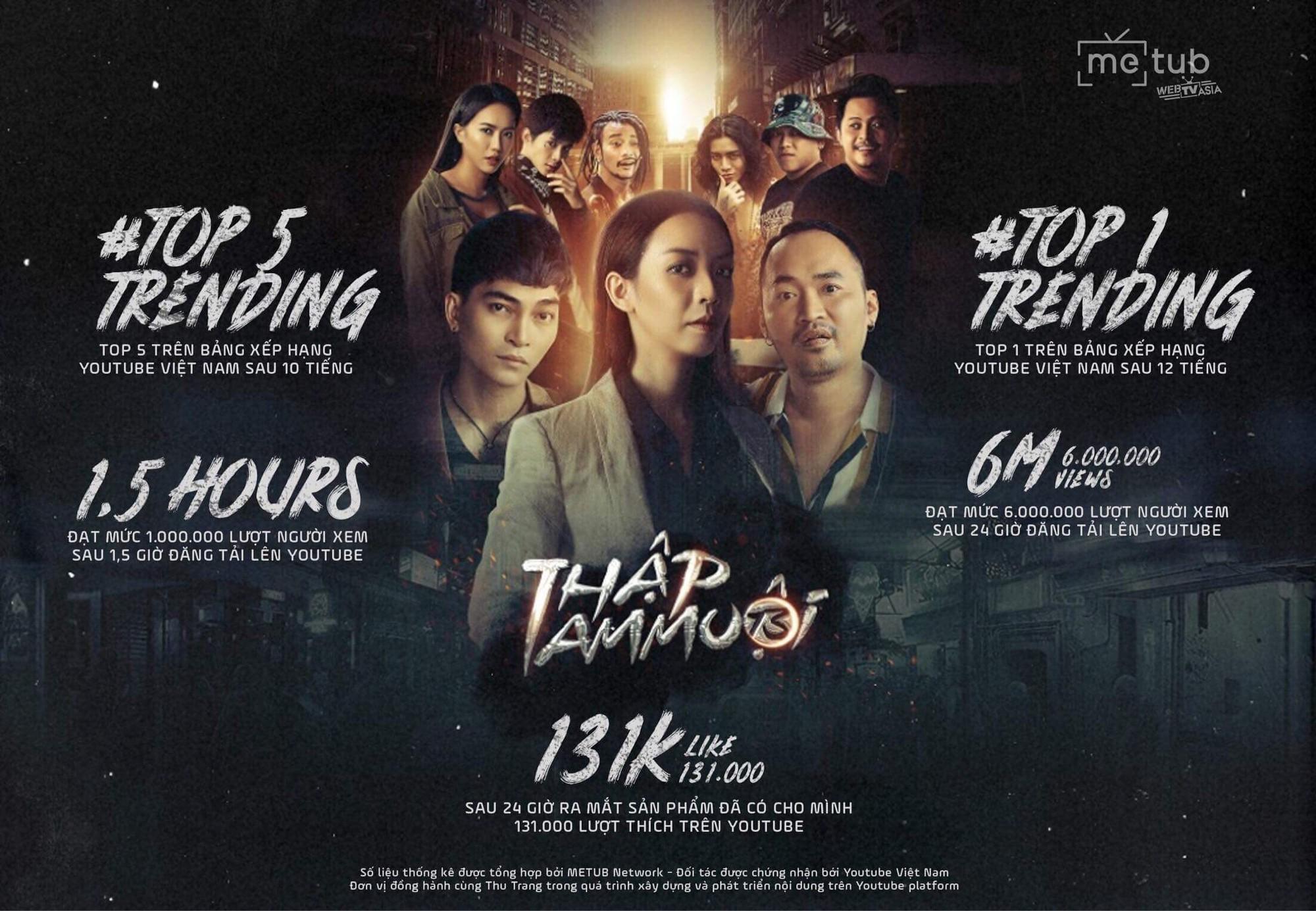 Phá kỉ lục của chính mình, Thu Trang quyết định làm phần 2 cho Thập Tam Muội - Ảnh 1.