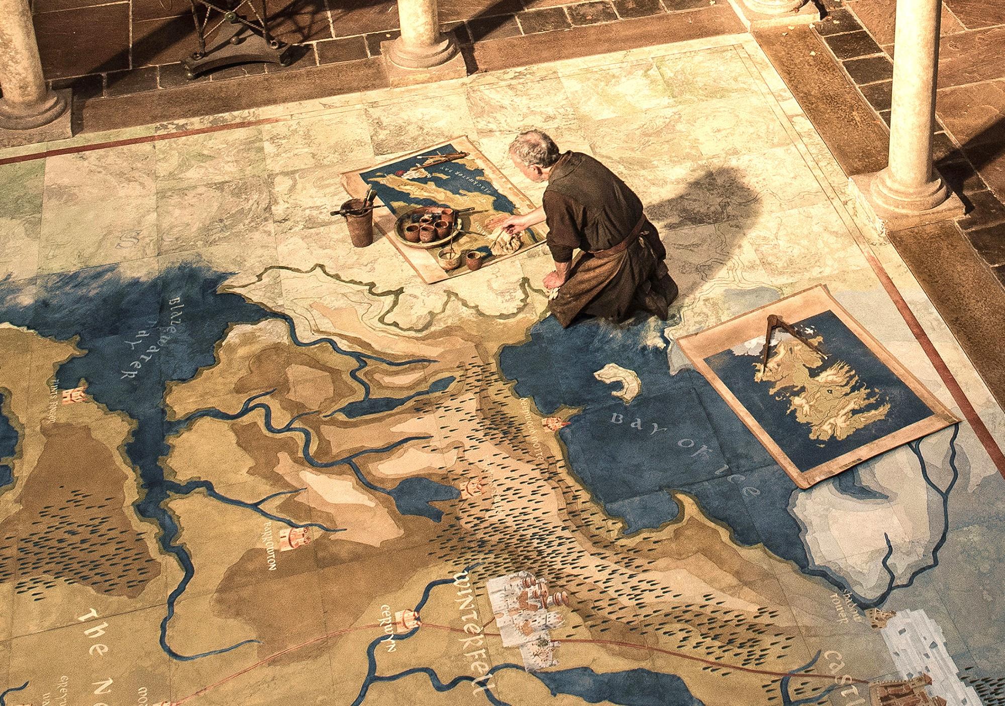 Sợ tù nhân dùng bản đồ hư cấu để... thoát thân, nhà tù cấm cửa Game of Thrones - Ảnh 1.