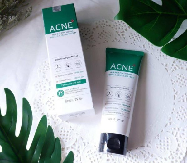 Review Về Sữa Rửa Mặt Some By Mi AHA-BHA-PHA 30 Days Miracel Acne Clear Foam
